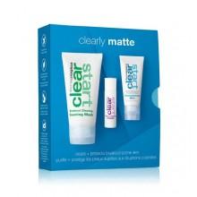 Dermalogica Сlearly Matte Kit - Лечебный набор Очистка и защита для проблемной кожи