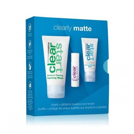 Dermalogica Сlearly Matte Kit - Лікувальний набір Очищення та захист для проблемної шкіри